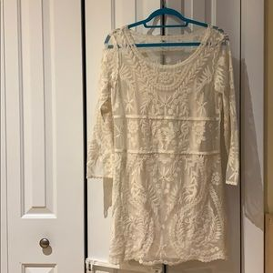 NWT Express off-white dress